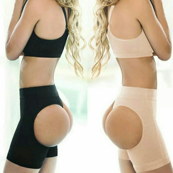 ca0ba493ff Long butt lifter compression body shaper waist
